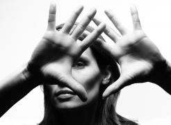 portrait, black and white, berlin, photography, hands, face