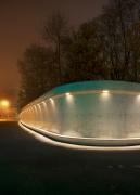 leutschenbach zürich Parkanlage baum sitzgelegenheit